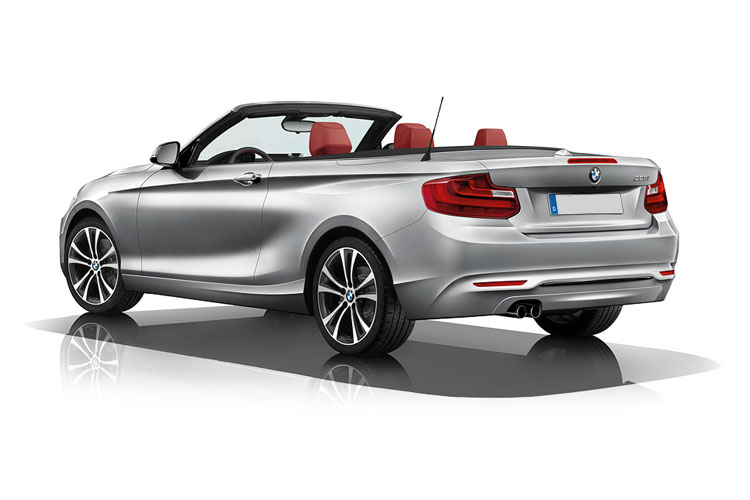 BMW 2 Series 218 Convertible 2.0 d 150PS M Sport 2Dr Auto [Start Stop] [Tech II] back view