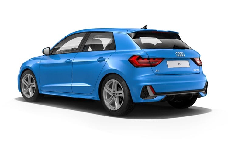 Audi A1 30 Sportback 5Dr 1.0 TFSI 116PS Sport 5Dr Manual [Start Stop] [Technology] back view