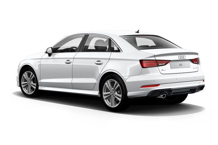 Audi A3 30 Saloon 4Dr 2.0 TDI 116PS Sport 4Dr S Tronic [Start Stop] back view