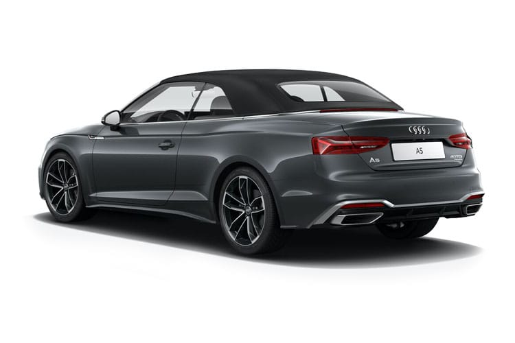 Audi A5 40 Cabriolet 2Dr 2.0 TFSI 204PS Edition 1 2Dr S Tronic [Start Stop] [Comfort Sound] back view