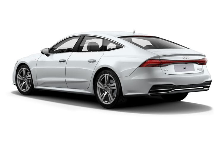 Audi A7 45 Sportback quattro 5Dr 2.0 TFSI 265PS Black Edition 5Dr S Tronic [Start Stop] [Comfort Sound] back view