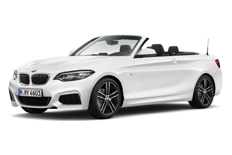 BMW 2 Series 218 Convertible 2.0 d 150PS M Sport 2Dr Auto [Start Stop] [Tech II] front view