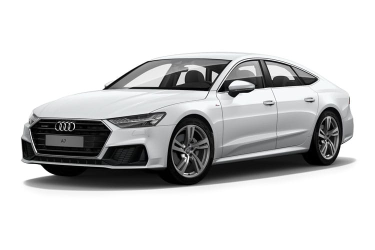 Audi A7 45 Sportback quattro 5Dr 2.0 TFSI 265PS Black Edition 5Dr S Tronic [Start Stop] front view