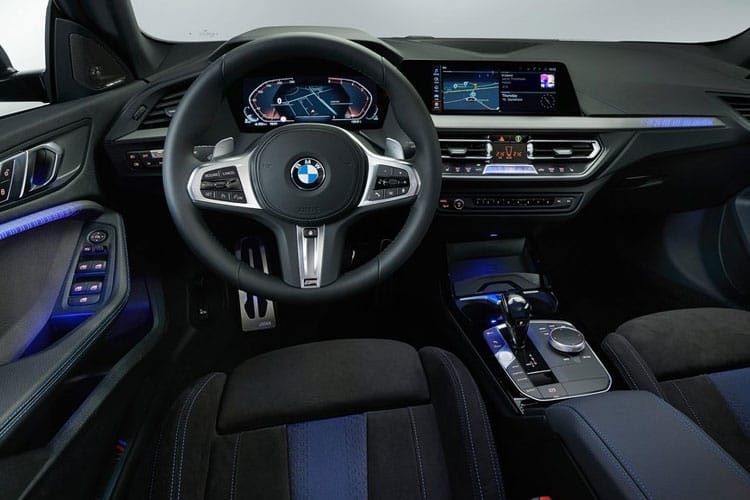 BMW 2 Series 218 Gran Coupe 1.5 i 136PS M Sport 4Dr DCT [Start Stop] [Tech Pro] inside view