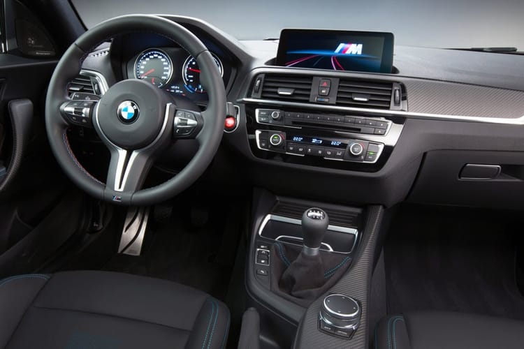 BMW 2 Series 220 Coupe 2.0 d 190PS M Sport 2Dr Auto [Start Stop] [Tech II] inside view