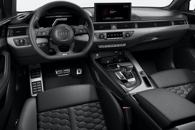 Audi A4 40 Avant quattro 5Dr 2.0 TDI 190PS Black Edition 5Dr S Tronic [Start Stop] [Comfort Sound] inside view