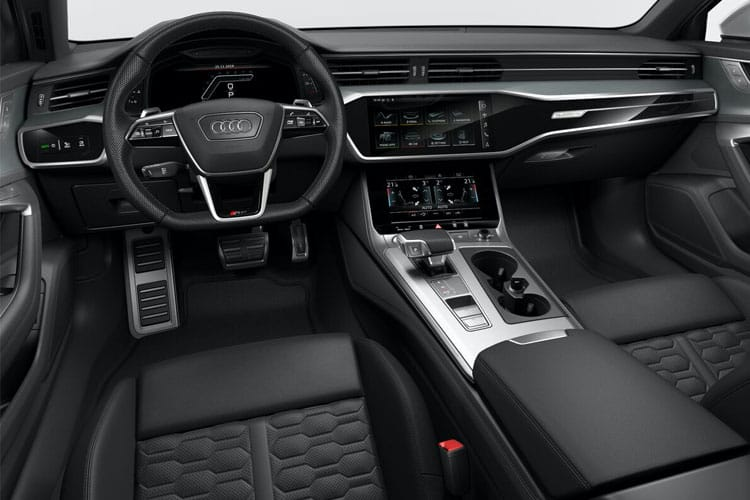 Audi A6 50 Avant quattro 3.0 TDI V6 286PS S line 5Dr Tiptronic [Start Stop] inside view