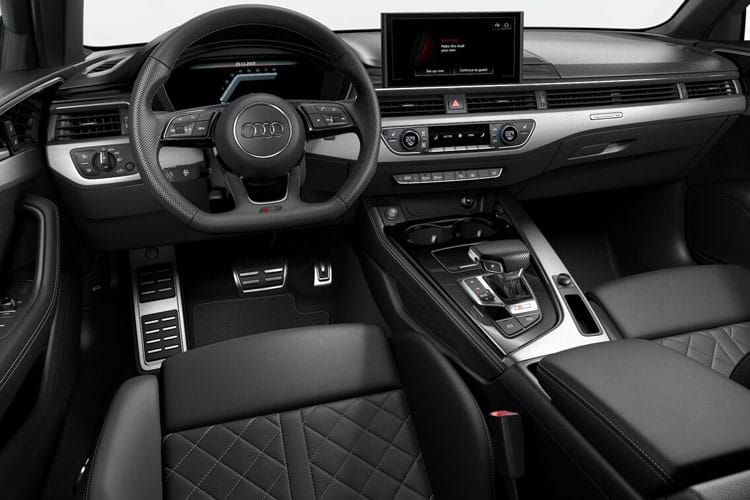 Audi A4 40 Saloon 4Dr 2.0 TFSI 190PS Black Edition 4Dr S Tronic [Start Stop] inside view